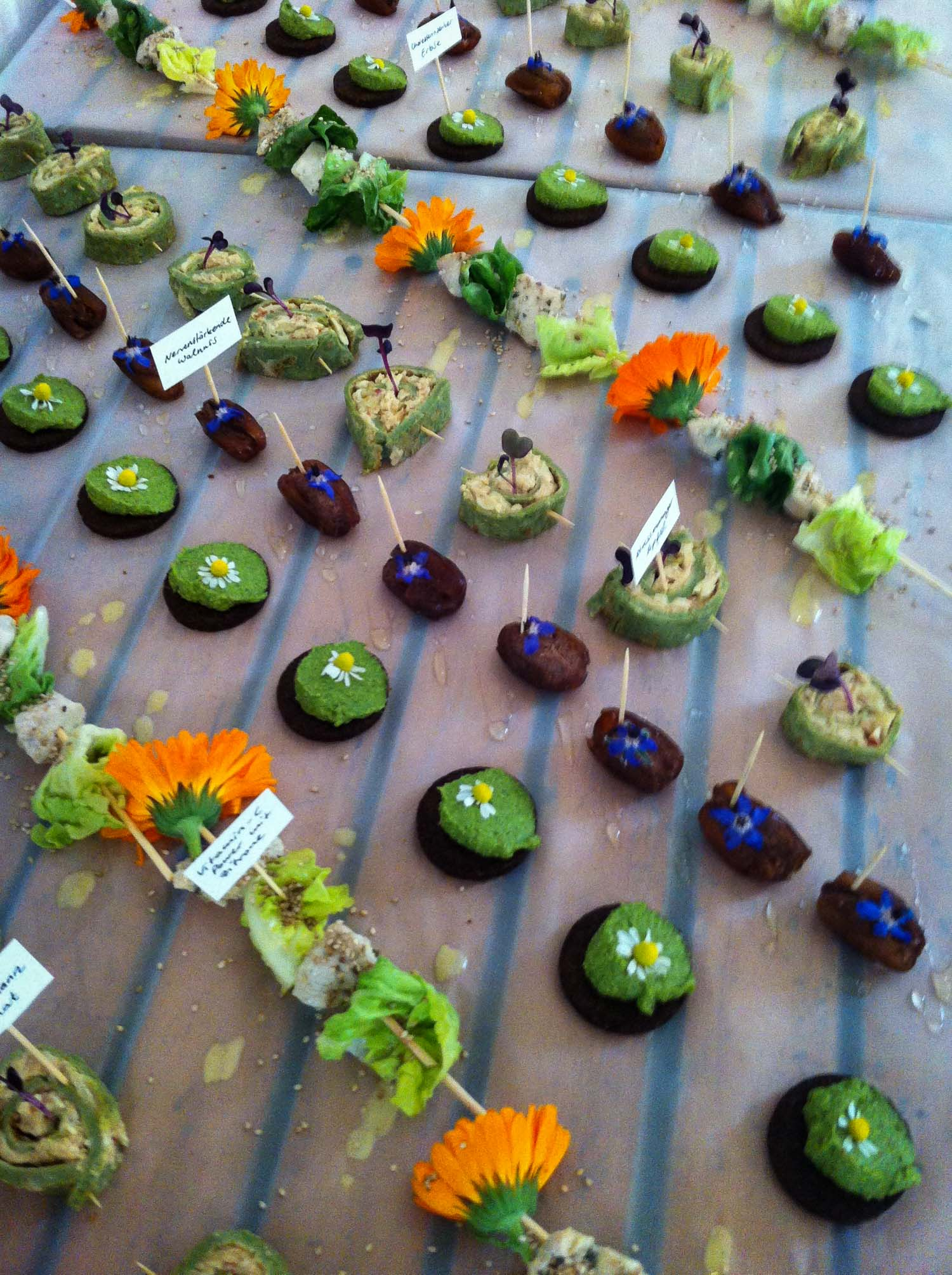 Wild and Root Eventagentur Catering Weleda
