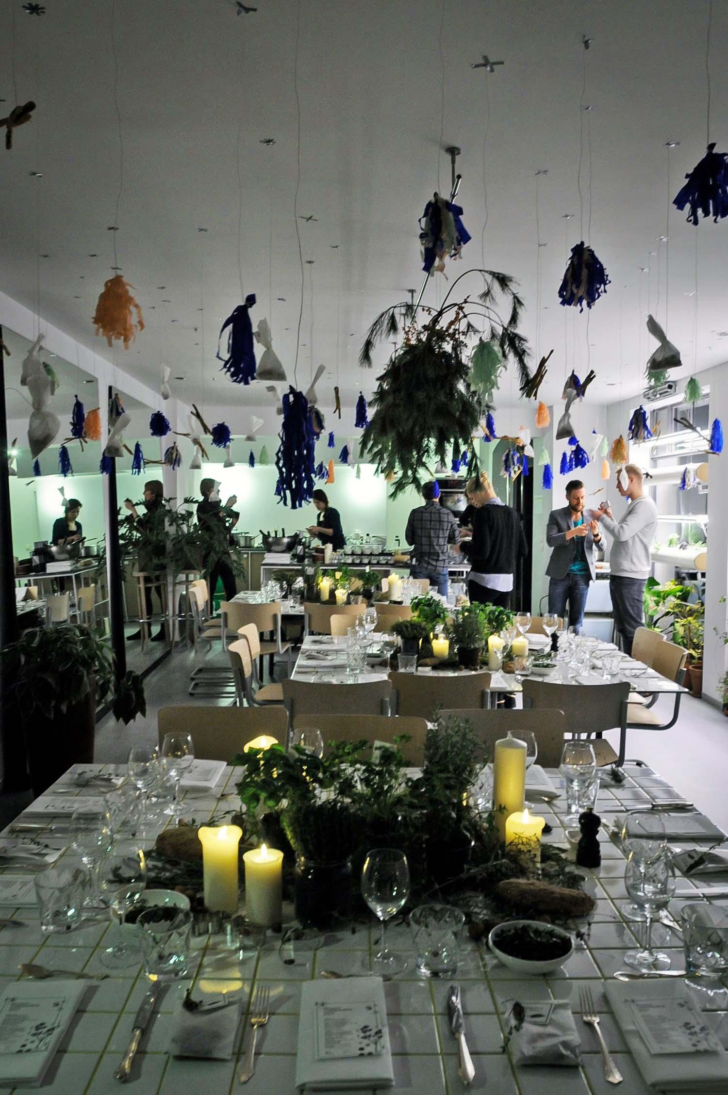 Wild and Root interaktive Dinner Food Lab Berlin