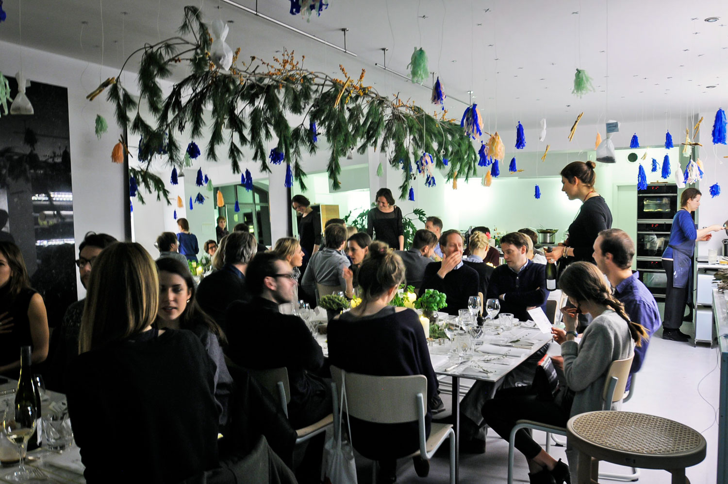 Wild and Root interaktive Dinner Food Lab Berlin